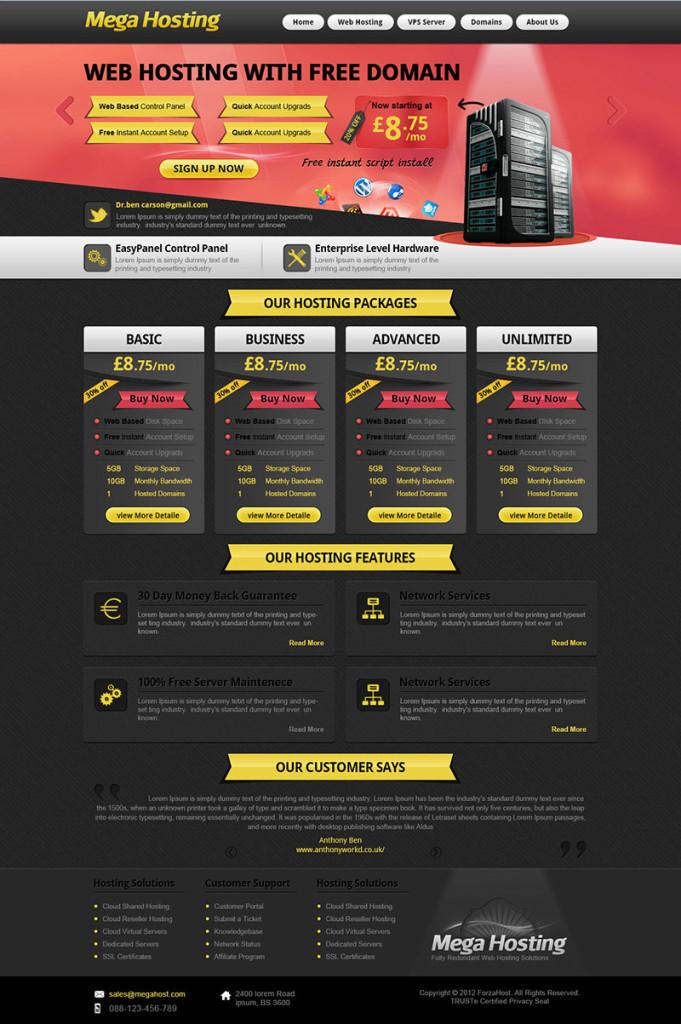 mega-hosting